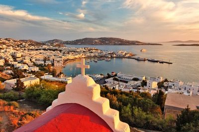 Syros – Delos – Rinia - Mykonos