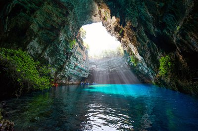 Melessani cave, Kefalonia