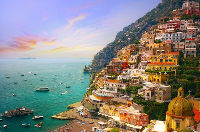 Lap the luxury of Positano