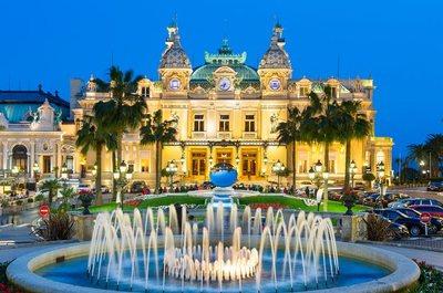 Disembark in Monaco