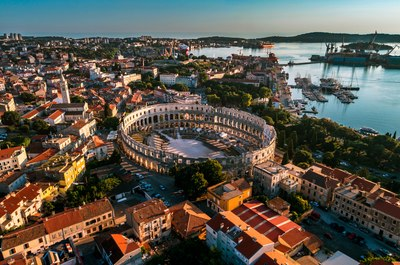 Round off in Pula