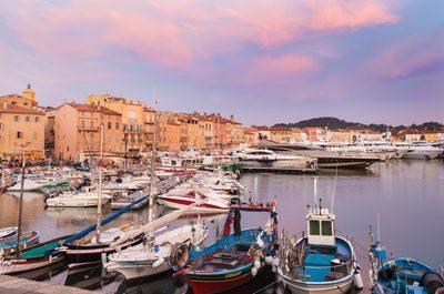 Embark in St Tropez