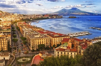 Embark in Naples