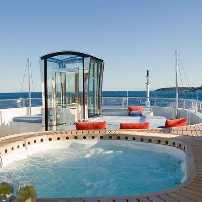 Latitude Yacht Jacuzzi