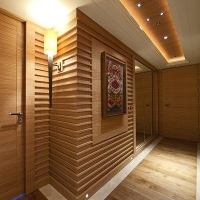 Naia Yacht Corridor - Artwork