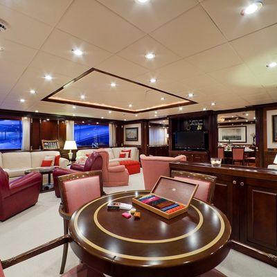 Sophie Blue Yacht Main Salon