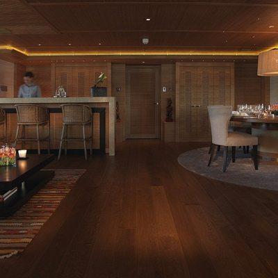 Naia Yacht Main Salon - Bar