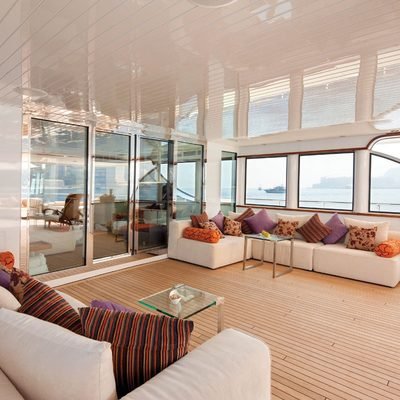 Northlander Yacht Upper Deck