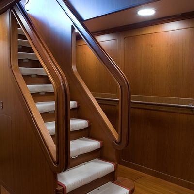 Antara Yacht Staircase