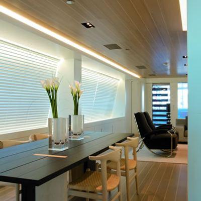 Baracuda Valletta Yacht Detail - Dining