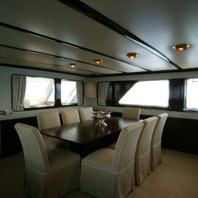 India Yacht Dining Salon