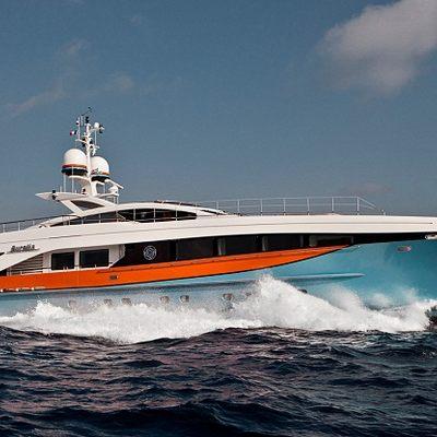 Aurelia Yacht Running