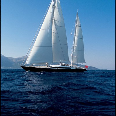 Parsifal III Yacht Full Sail