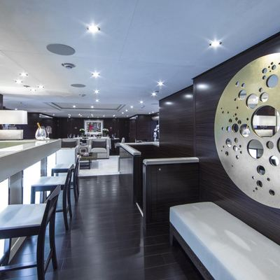 Revelry Yacht Main Salon Bar