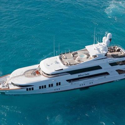 Ocean Club Yacht Running Shot