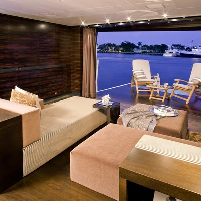 Inception Yacht VIP Balcony