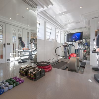 Lady Kathryn V Yacht Gym