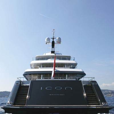 Icon Yacht Aft View