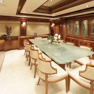 Dream Yacht Dining Salon
