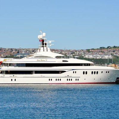 Lady Kathryn V Yacht Exterior Shot