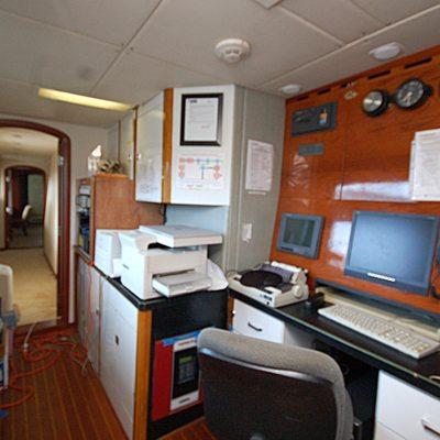 Stargazer Yacht Control Room