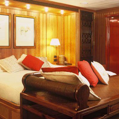 Bleu De Nimes Yacht Master Stateroom - Detail