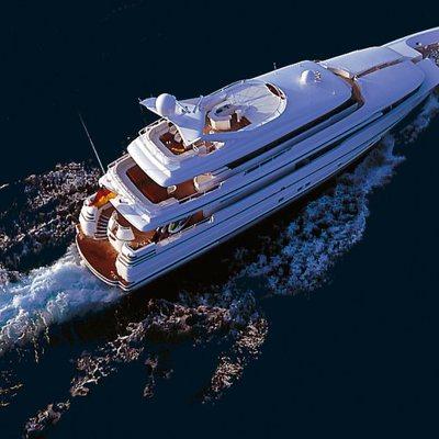 Envy Yacht Running Shot - Aerial