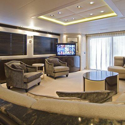 Strega Yacht Salon - Screen