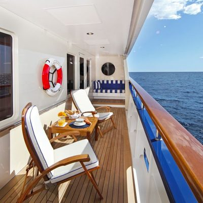 Laurel Yacht Master Terrace Starboard Looking Forward