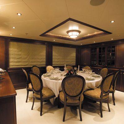 Big Aron Yacht Dining Salon