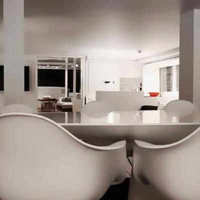 Berzinc Yacht Dining Table