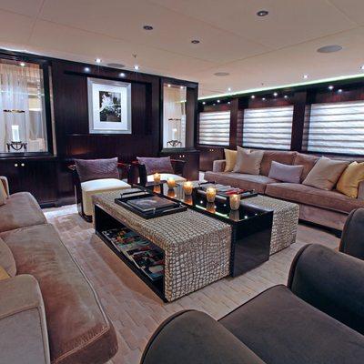 Carpe Diem Yacht Salon Seating