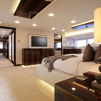 Gems II Yacht Master Stateroom - Screen