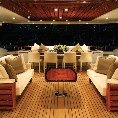 Prana Yacht Cockpit - Night