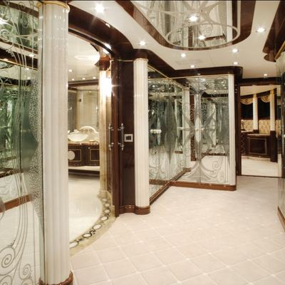 Diamonds Are Forever Yacht Hallway