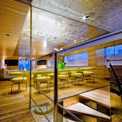 Mabrouk Yacht Staircase & Dining