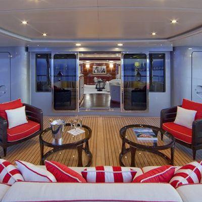 Latitude Yacht Main Aft Deck