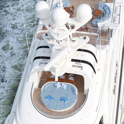 Lady Kathryn V Yacht Above