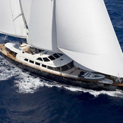 Antara Yacht Running Shot