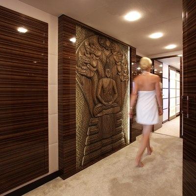 Gems II Yacht Master Stateroom Hallway