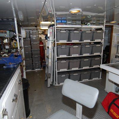 Lady J Yacht Water Sports Storage