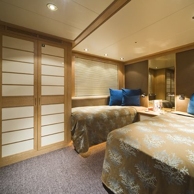 Cyan Yacht Twin Stateroom