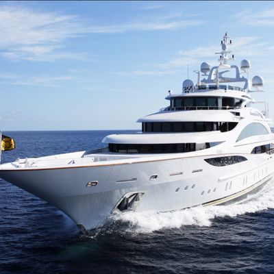 Diamonds Are Forever Yacht Running Shot - Front View