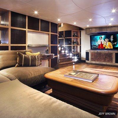 Hemisphere Yacht TV Room