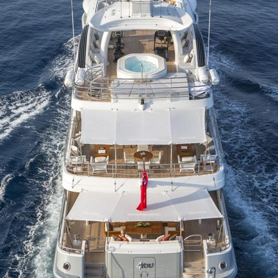 Revelry Yacht Aft Decks
