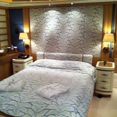 Alexandra Yacht Blue Double Stateroom