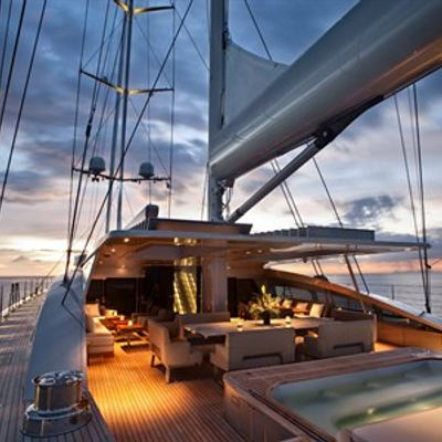 Vertigo Aft Deck - Night