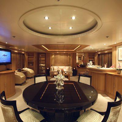 Marla Yacht Upper Salon