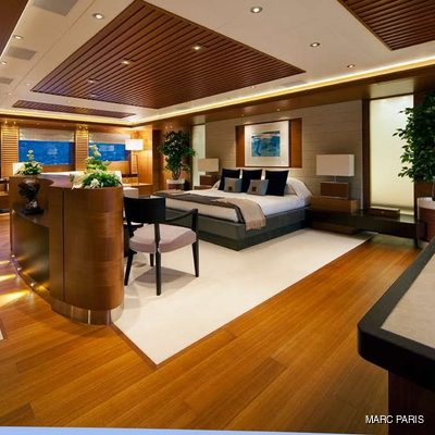 Mary-Jean II Yacht Master Stateroom