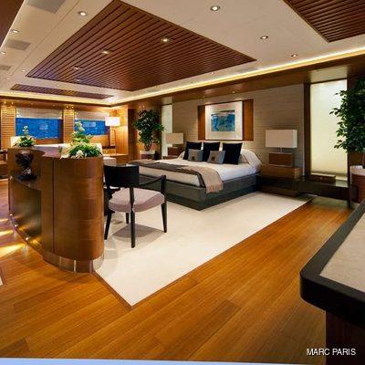Mary-Jean II Yacht Master Stateroom